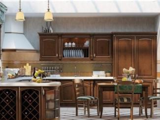 Кухня прямая Гварнери - Мебельная фабрика «НиксМебель»