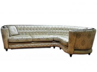 Элитный угловой диван Сицилия  - Мебельная фабрика «Экодизайн», г. Москва