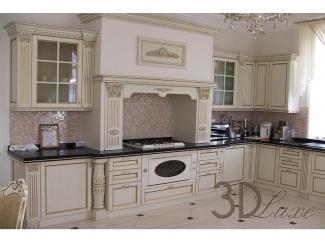 Классическая угловая кухня  - Изготовление мебели на заказ «3dluxe»