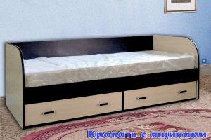 Кровать с ящиком - Мебельная фабрика «Колибри»