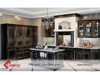 Кухня Афина массив - Мебельная фабрика «Симкор»