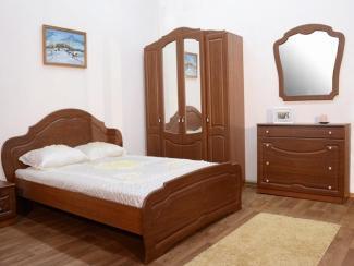 Спальный гарнитур «Ольга» - Мебельная фабрика «Евромебель»