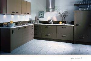 Кухня пластик 8 - Мебельная фабрика «ПластДекор»