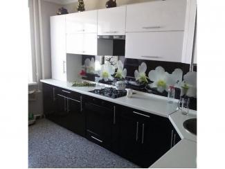 Черно-белая кухня  - Мебельная фабрика «Династия»