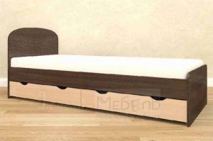 Детская кровать с ящиками Глобус 5 - Мебельная фабрика «Алтай-мебель»