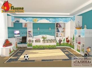 Детская Алёша 1 - Мебельная фабрика «Галина»
