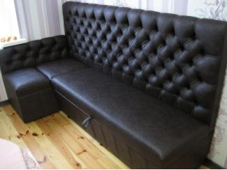 Кухонный уголок с каретной стяжкой - Мебельная фабрика «ChesterStyle», г. Гродно
