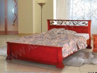 Кровать из дерева Шармель 2 - Мебельная фабрика «Альянс 21 век»