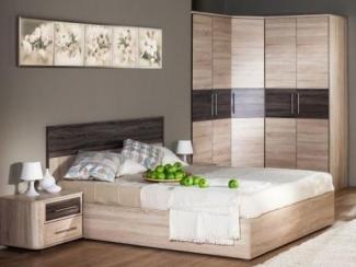 спальный гарнитур Бруна комплект. 2 - Мебельная фабрика «Любимый дом (Алмаз)»
