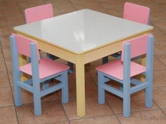 Стол квадратный - Мебельная фабрика «12 стульев»