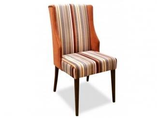 Полосатый мягкий стул