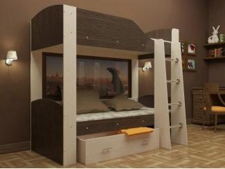Двухъярусная кровать  - Мебельная фабрика «Мебель СаЛе»