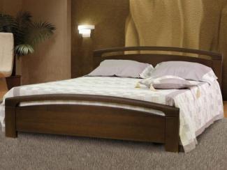 Кровать Бали-3 массив бука - Мебельная фабрика «Диамант-М»
