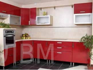 Кухонный гарнитур угловой КГ001 - Мебельная фабрика «ЛВМ (Лучший Выбор Мебели)»