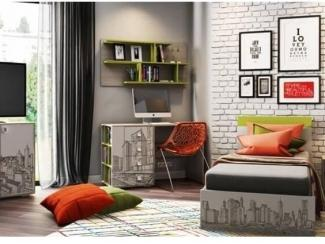 Детская-подростковая Мегаполис - Мебельная фабрика «Династия»