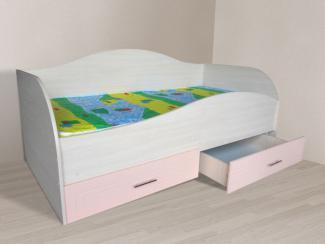 Кровать детская Радуга одноярусная - Мебельная фабрика «Авеста»