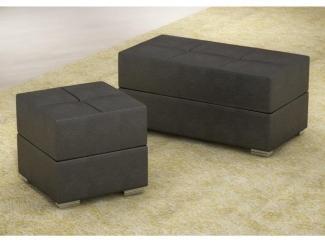 Пуф черный - Мебельная фабрика «Успех»
