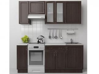 Кухонный гарнитур прямой Венге - Мебельная фабрика «Московский мебельный альянс»