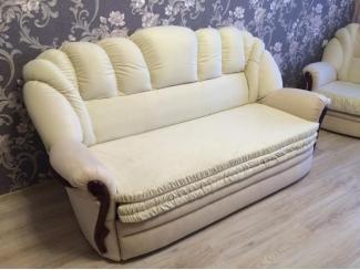Диван прямой белый - Мебельная фабрика «Уют»