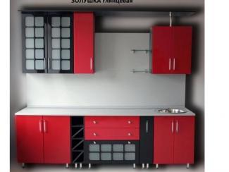 кухня Золушка крашеная с решетками - Мебельная фабрика «Киржачская мебельная фабрика»