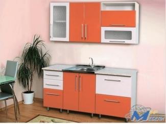 Кухня прямая Ника 4 - Мебельная фабрика «Мир Мебели»
