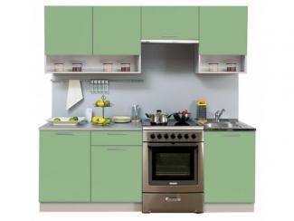 Кухонный гарнитур прямой Симпл 2100 с нишей - Мебельная фабрика «Боровичи-мебель», г. Боровичи