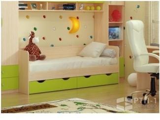 Кровать детская с выкатными ящиками - Мебельная фабрика «Дятьковское РТП-1», г. Дятьково