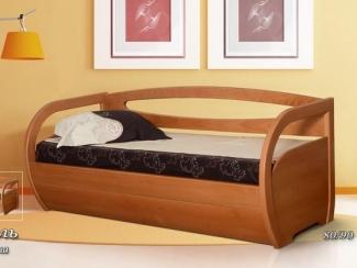 Кровать из сосны Марсель - Мебельная фабрика «Фокин»
