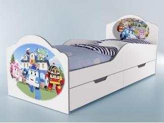 Детская кровать Робокар - Мебельная фабрика «Грифон Стайл»