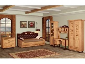 Элегантная модель спальни Ралли 1  - Мебельная фабрика «Яна», г. Ростов-на-Дону