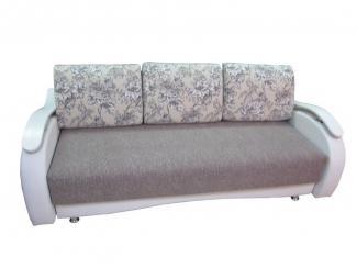 Универсальный диван с деревянными подлокотниками - Мебельная фабрика «Идиллия»