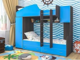 Кровать двухъярусная Юниор 2 - Мебельная фабрика «Сходня Мебель», г. Химки
