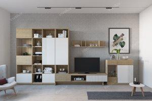 Гостиная современная Монако - Мебельная фабрика «Инволюкс»