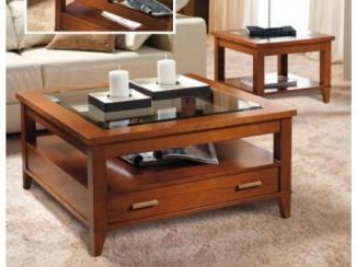 Стол журнальный Мод 629.606.Р - Импортёр мебели «Мебель Фортэ (Испания, Португалия)»