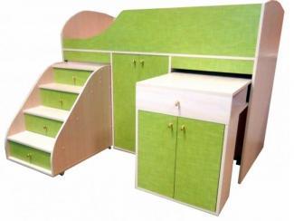 Кровать чердак мини С-135 - Мебельная фабрика «Рузская мебельная фабрика»