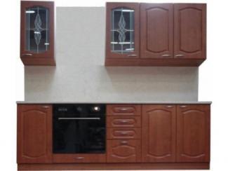 Кухонный гарнитур прямой Вишня - Мебельная фабрика «Петербургская мебельная компания (ПМК)»