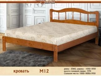 Кровать в спальню М 12 - Мебельная фабрика «Селена»