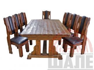 Обеденная группа Барин - Мебельная фабрика «ВМК-Шале»