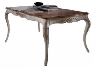Стол прямоугольный резной  - Импортёр мебели «Spazio Casa»