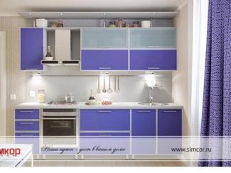 Кухня Алюминиевая рамка 3 - Мебельная фабрика «Симкор»
