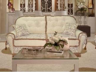 Элегантный прямой диван Корона-Элегия - Мебельная фабрика «Корона Люкс»