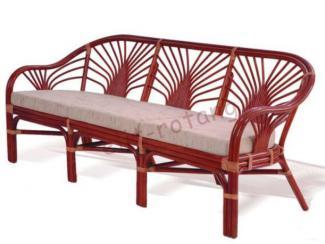 Диван трехместный - Импортёр мебели «Элит-Ротанг (Индонезия)»