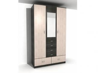 Шкаф трехдверный пять ящиков - Мебельная фабрика «КурскМебель»