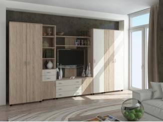 Стенка РИТМ-3 модульная - Мебельная фабрика «Баронс»