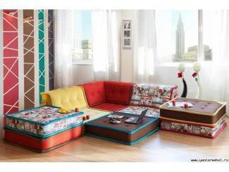 Диван угловой Степ - Мебельная фабрика «Янтарь»