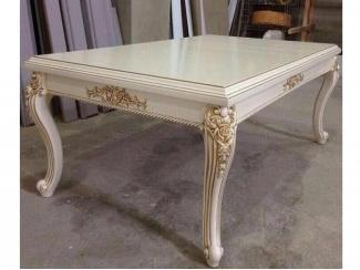 Белый журнальный стол  - Мебельная фабрика «Шанс»