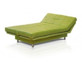 Зеленый диван-кровать Юджин 4 - Мебельная фабрика «Мебельлайн», г. Санкт-Петербург