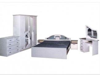 Спальня Белоснежка МДФ