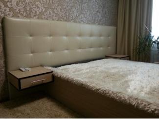 Кровать с мягким изголовьем - Мебельная фабрика «Амулет»