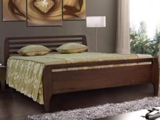 Кровать Бали-4 массив бука - Мебельная фабрика «Диамант-М»